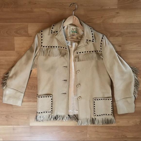 92a8a6e8c Vintage Men's fringe leather jacket